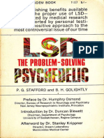 LSD the Problem-Solving Psychedelic