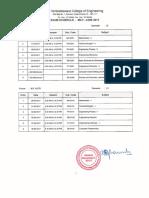 Anna University Exam Schedule 2017