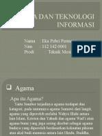 Agama Dan Teknologi Informasi