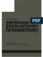 Quality Management Procedure and Guideline