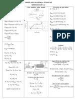 Formulario Termodinámica Intercambiadores MT