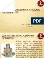 Seguridad Alimentaria Nutricional