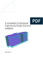 3. Innovation in Structural Engineering Design (General Categor