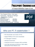 Syndicate 5 Freeport Stakeholder Analysis