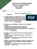 Class9 History