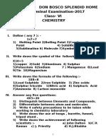 Class6 Chemistry