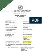 3 T No 45R Biotech Financial Bid Cover 2 VolumeII Part 1 Civil 1st Page