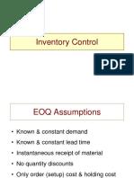 EOQ application