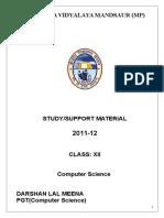 Studymaterial_c++_IMPORTANT.doc