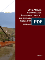 2016-Annual Assessment Executive Summary