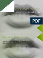 Karakteristik Virus