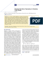 (2016) Helping Students Understand the Role of Symmetry in Chemisty Using the Particle-In-A-Box Model