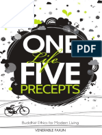One Life Five Precepts Buddhist Ethics for Modern Living
