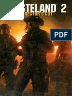 Wasteland 2 Director's Cut Manual