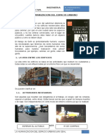 La Humanizacion Del Espacio Urbano