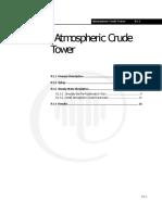 Atmospheric Crude Tower