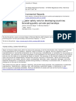 Disaster Safety Nets for Developing Countries Extending Public-private Partnershipsds