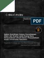 Critical review_Ellysa Bella Sukma R_135060501111053.pptx