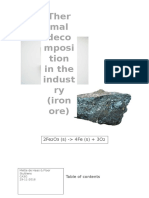 scheikunde iron decomposition  3