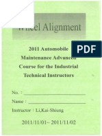 Basic Wheel Alignment