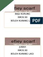 Efiey Scarf 2
