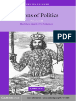 [b] Skinner, Q. - Visions of Politics III - Hobbes and Civil Science [CUP 2002]