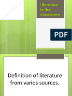 Overview - Literature in the classroom.pdf
