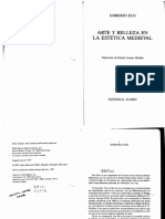 Eco, Umberto - Arte y belleza en la estetica medieval.pdf