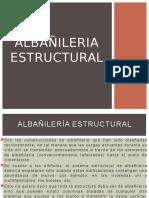 Albañileri estructural teoria