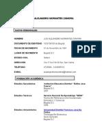 Luis Alejandro Morantes Zamorahoja d Vida