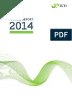 Eltek Annual Report 2014 PDF