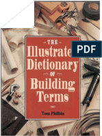 Illustrated building dictionary of building terms