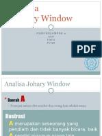 Analisa Johary Window Kewirausahaan