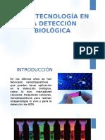 Nanotecnología en La Detección Biológica