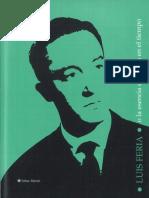 Luis Feria o la esencia del poeta en el tiempo