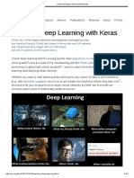 Learning Deep Learning With Keras
