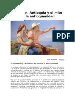 Higuita,Otto Medellín&MitoAntioqueñidad
