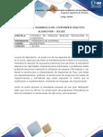 Guia para el desarrollo del componente práctico