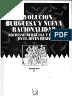 Rubén Dri - Revolución Burguesa y Nueva Racionalidad