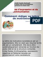Comment-rédiger Une-lettre de Motivation
