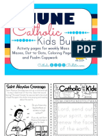 2017 June Catholic Kids Bulletin
