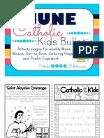 2017 June Catholic Kids Bulletin