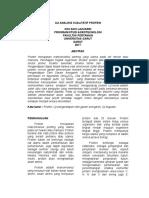 Jurnal Uji Analisis Protein
