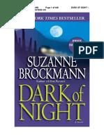 14.- Dark of night - Serie Troubleshooters - Suzanne Brockmann.docx