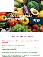 postharvest Processing of Food
