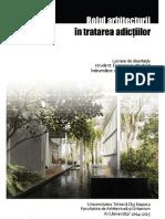 DUMITRESCU NORBERT - Rolul Arhitecturii in Tratarea Adictiilor