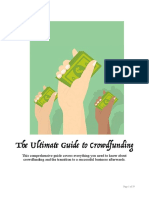 Ultimate Guide to Crowdfunding