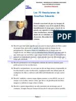 Resoluciones de Jonathan Edwars