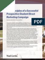 5 Principles Student Direct Marketing
