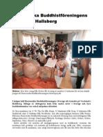 Burmesiska Buddhistföreningens årsmöte i Hallsberg
